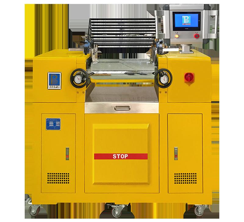 双辊开炼机/油热水冷型/PLC控制