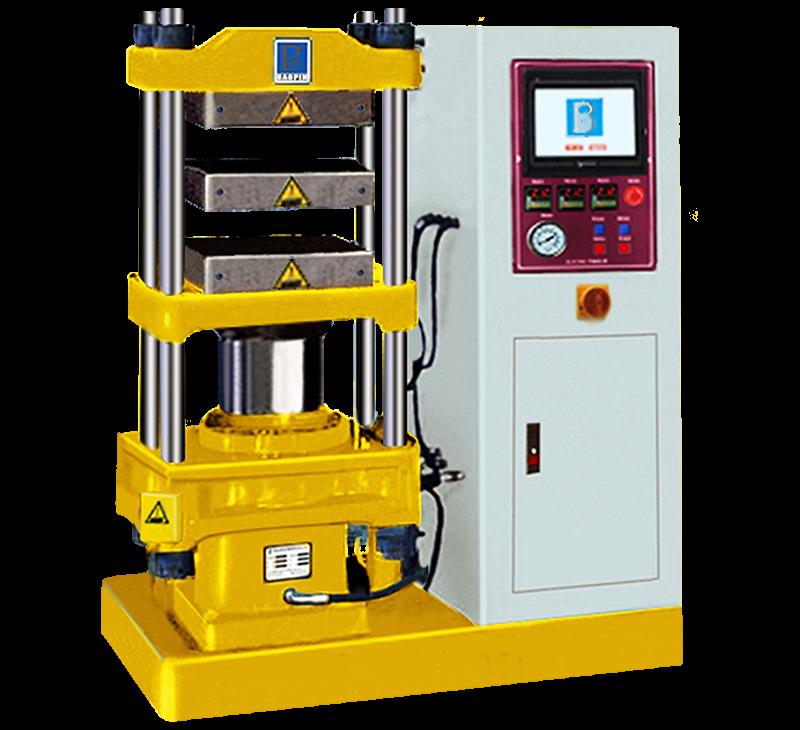 平板硫化机/ PLC控制/电热水冷型