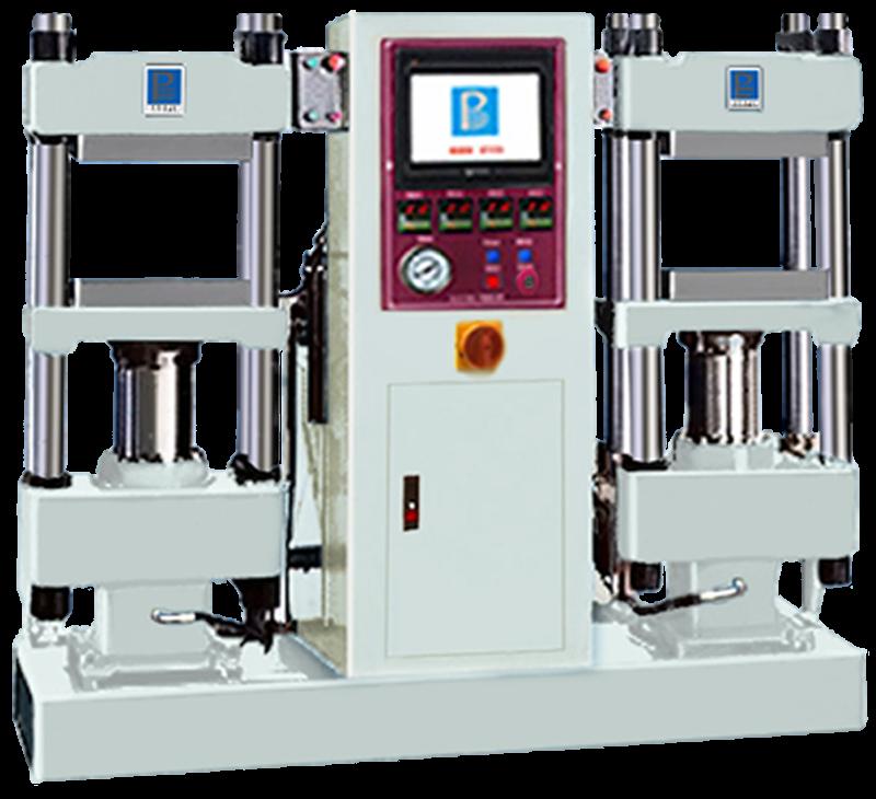 双联平板硫化机/PLC控制