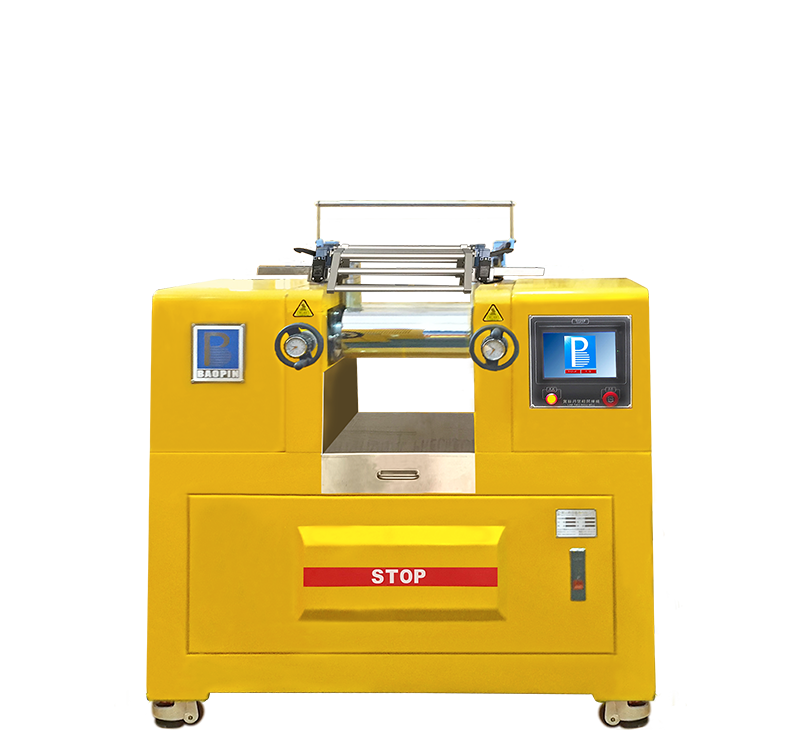 双辊开炼机/桌上型/PLC控制