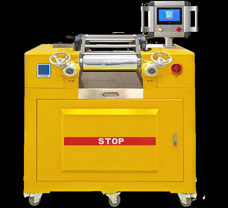 双辊开炼机/电热水冷型/PLC控制